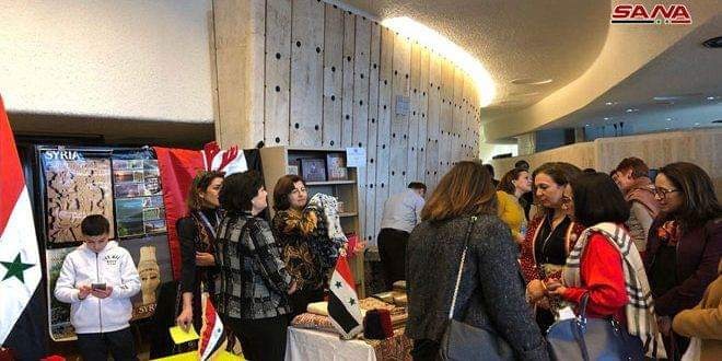 Photo of Annual Charity Bazaar opens in Geneva with Syria's participation