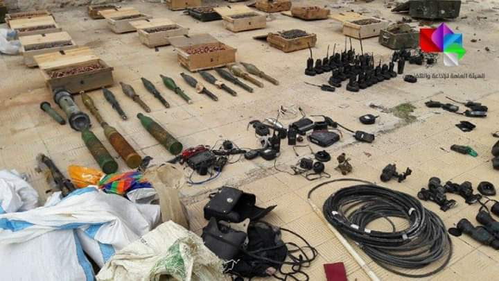 Photo of Authorities find weapons and ammo left behind by terrorists in several areas