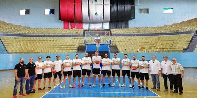 Photo of Syria's national basketball team starts training camp in China