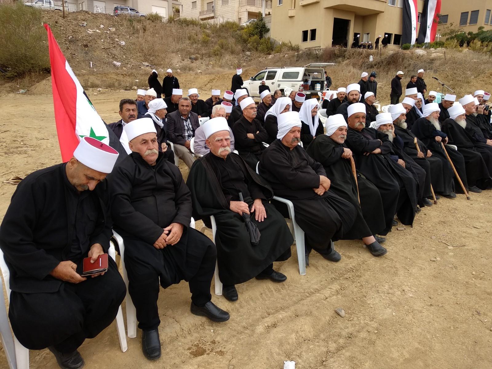 Photo of وقفة تضامنية مع أهلنا بالجولان المحتل