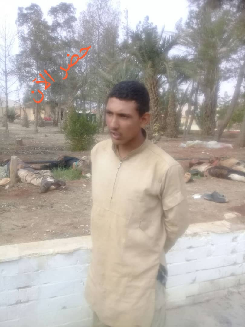 """Photo of Field commander: Liberation of Sweida abductees """"very precision operation"""""""