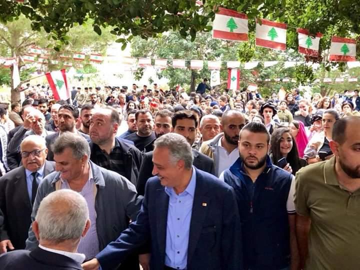 Photo of أرسلان من بيت الإستقلال في بشامون: في كل دول العالم الحكم استمرارية الا في لبنان