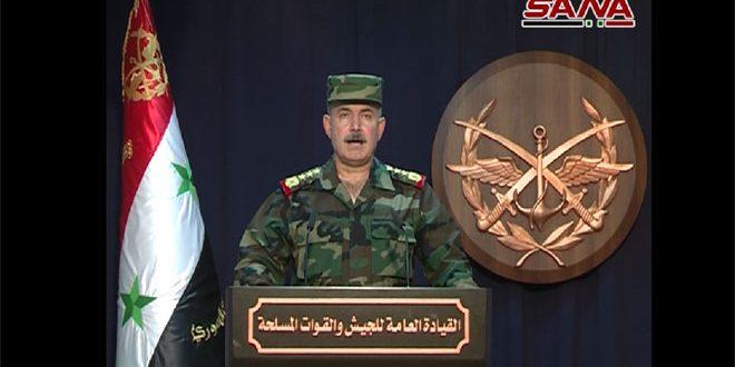 """Photo of قيادة الجيش تٌعلن تحرير كامل """"بادية السويداء"""""""