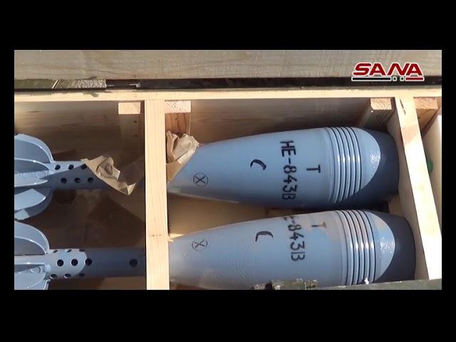 Photo of العثور على كميات جديدة من الأسلحة منها أمريكي وإسرائيلي بريف درعا