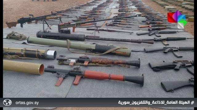 Photo of Weapons, ammo including US-made missiles found in southern region
