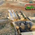 Syrian Arab Army finds terrorist hideouts and workshops for manufacturing weapons and chemicals in Aleppo countryside