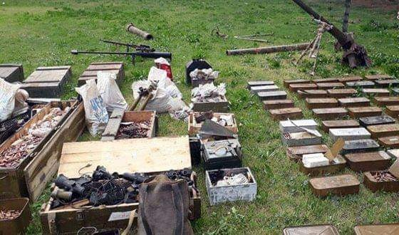 Photo of The competent authorities found weapons, equipment in Quneitra