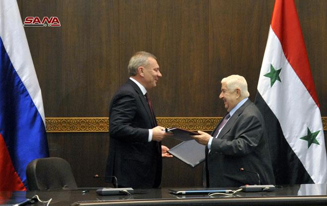 Photo of سورية وروسيا توقعان بروتوكول تعاون في المجالات التجارية والصناعية والعلمية والأشغال العامة