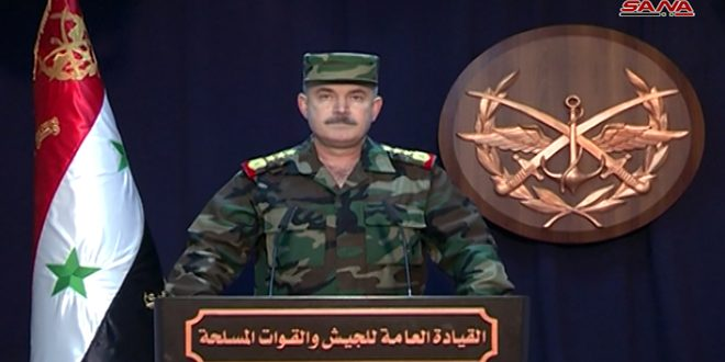 Photo of Army General Command announces entry of Syrian Arab army units to Menbej city, Syrian flag is hoisted
