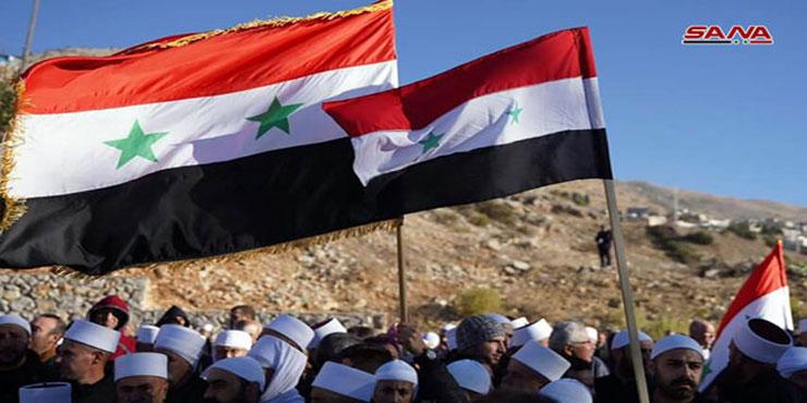 Photo of في ذكرى قرار الضم الباطل.. أهلنا في الجولان المحتل صامدون والاحتلال إلى زوال