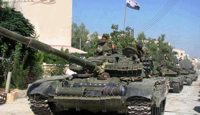 Photo of Syrian Arab Army destroys terrorists' dens in Idleb southeastern countryside