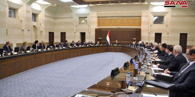 Photo of الحكومة سريعاً : ترجمة توجيهات السيد الرئيس بشار الأسد إلى برنامج عمل .