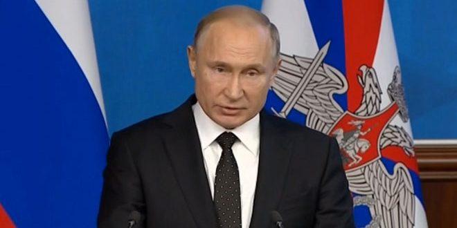Photo of بوتين: سنقدم جميع أنواع الدعم إلى سوريا