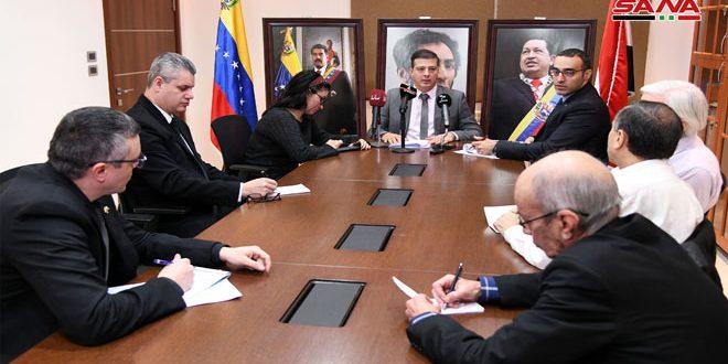 Photo of السفير الفنزويلي بدمشق: فنزويلا استفادت من تجربة سورية في مواجهة المؤامرات