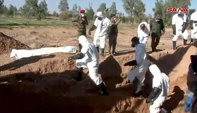 Photo of العثور على 7 مقابر جماعية في البوكمال