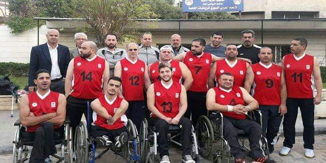 Photo of Syria's wheelchair basketball team ranks 2nd in Lebanon Int'l Championship