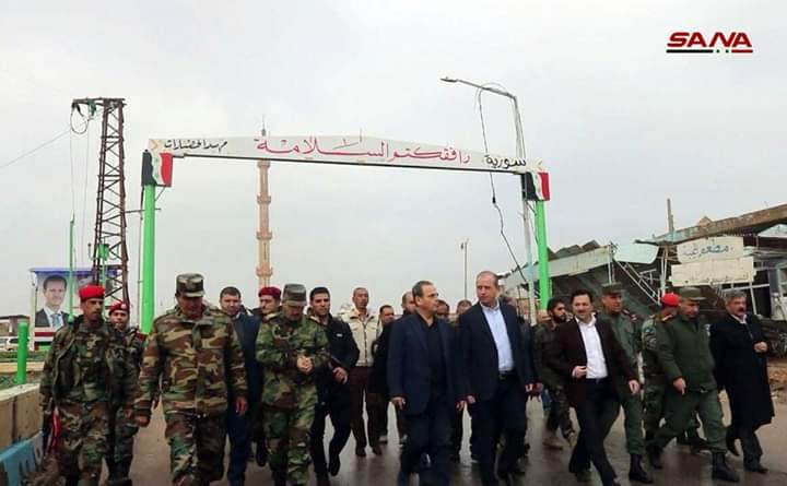 Photo of Ministerial committee inspects progress made in implementing projects in Deir Ezzor