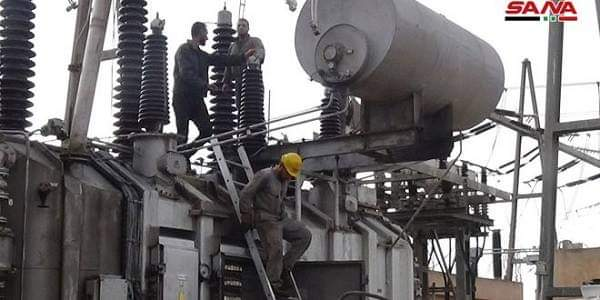 Photo of After 4 years of hiatus, al-Sheikh Maskeen power transmission plant in service