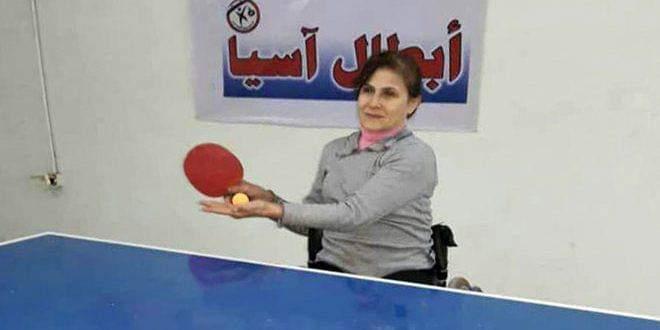 Photo of Fidaa Shadoud shines at para-athletics and powerlifting