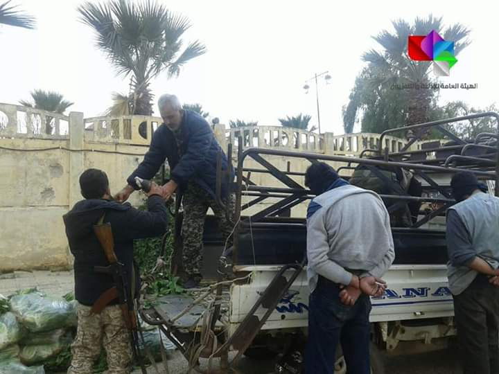 Photo of Authorities seize weapons and munitions left by terrorists in Daraa countryside
