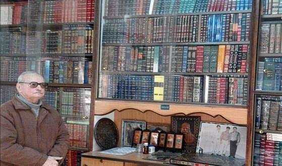 Photo of الجوهري يفتتح مكتبته الخاصة أمام العامة بأكثر من 3500 كتاب في محافظة السويداء