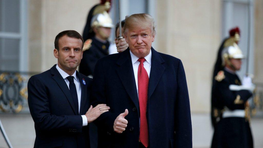 Photo of فرنسا تدعو ترامب إلى عدم التدخل في شؤونها