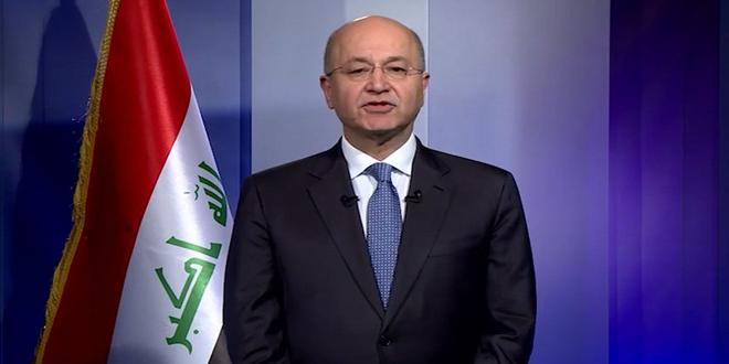 Photo of الرئاسة العراقية تؤكد دعمها لسوريا