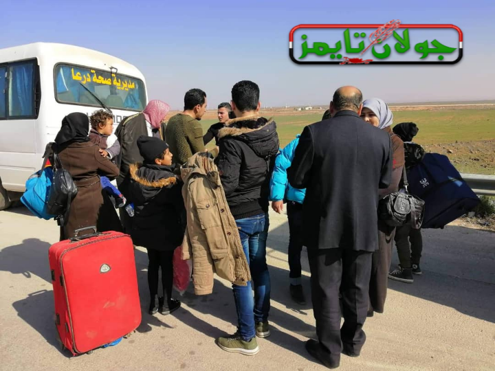 Photo of More Syrians return from Jordan camps through Nassib crossing