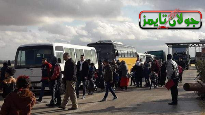 Photo of More families arrive in Jalighem corridor in Syrian Badiya coming from al-Rukban Camp