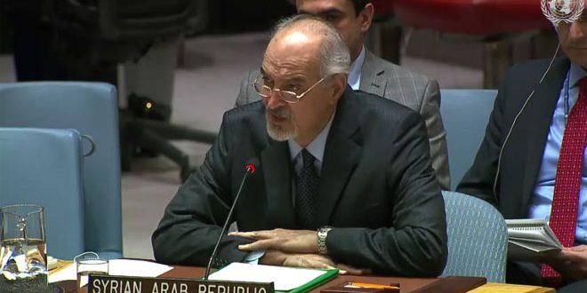 Photo of الجعفري: استعادة الجولان حق ثابت لسوريا لا يقبل التفاوض أو التنازل
