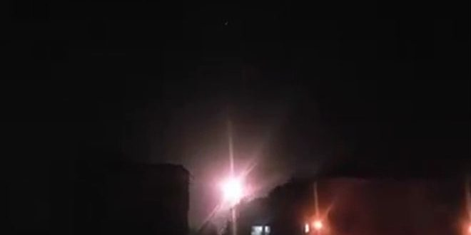 Photo of Syrian Air defenses intercept hostile missiles launched by Israeli warplanes, down most of them