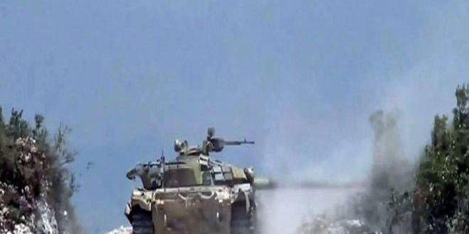 Photo of تدمير مستودعات أسلحة وذخائر إرهابية بريف حماة
