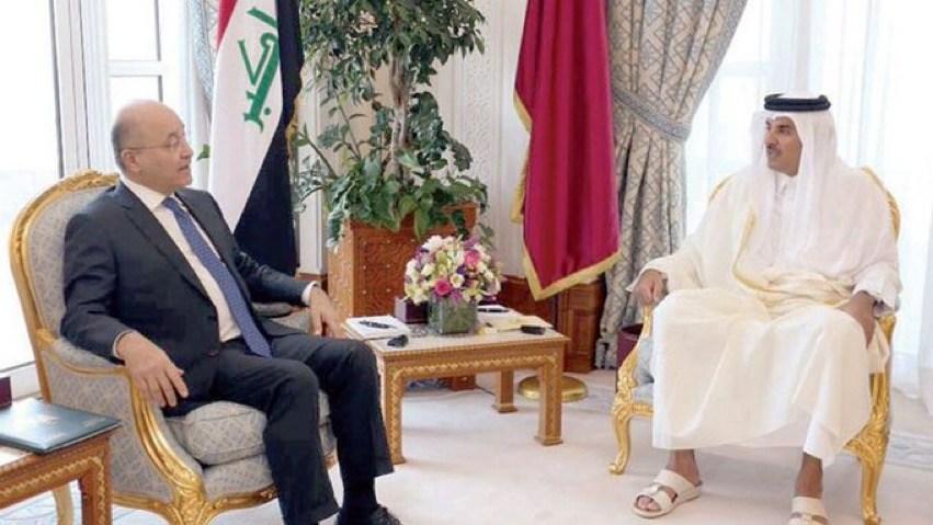 Photo of قطر تبدي استعدادًا لضخ مليار دولار في إعادة إعمار العراق