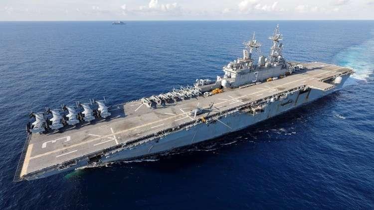 Photo of سفن حربية أمريكية وقوات من المارينز باتجاه سوريا للمساعدة في سحب القوات