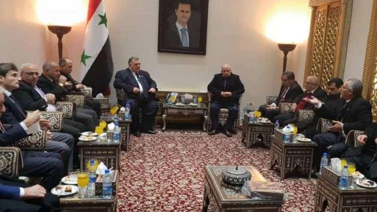 """Photo of لجنة """"اردنية سورية"""" لمساهمة المقاولين الأردنيين بإعادة الإعمار"""