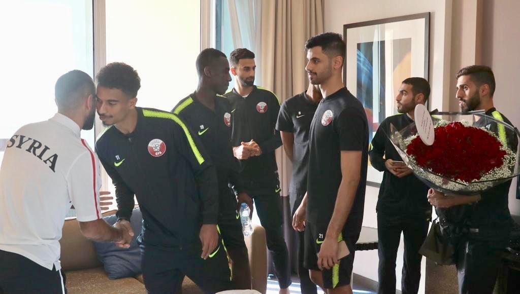 """Photo of """"قطر"""" تعلاج للاعب السوري """"أسامة أومري"""" !"""