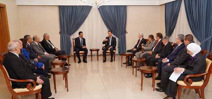 Photo of الأسد للمحامين العرب: يجب توعية المجتمعات العربية أمام خطر ضرب ثقافة الانتماء لدى الشعب العربي