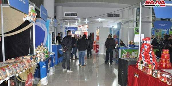 """Photo of Made in Syria"""" expo for direct sale kicked off in Lattakia"""