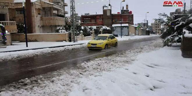 Photo of حالة الطرق العامة نتيجة الأحوال الجوية السائدة صباح اليوم