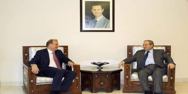 Photo of Mikdad: Cooperation between Syria and ICRC fruitful in humanitarian field
