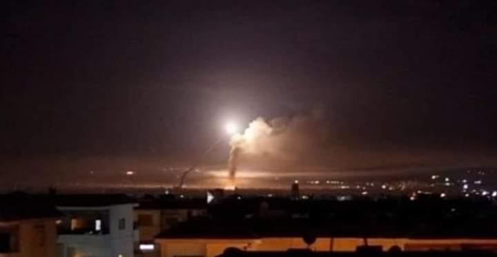 Photo of بالفيديو- هكذا تصدت الدفاعات الجوية السورية لعدوان الاسرائيلي فجر الاثنين