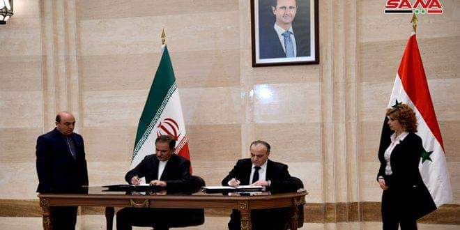 Photo of Syria and Iran sign agreements in the economic, scientific and investment domains