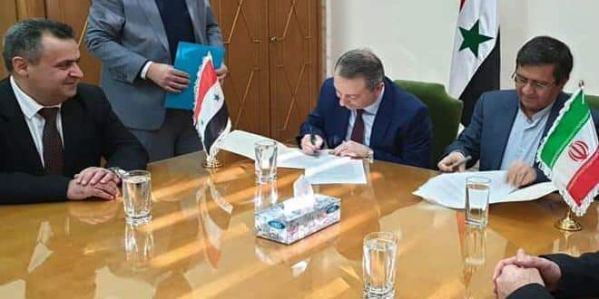 Photo of Banking cooperation agreement signed between Syria and Iran