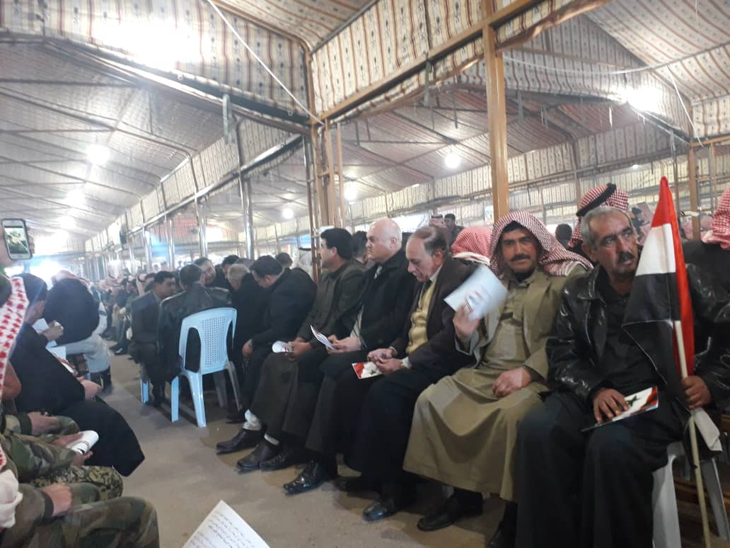Photo of Meeting for Syrian tribes and clans in Aleppo highlights adherence to unity in defending homeland