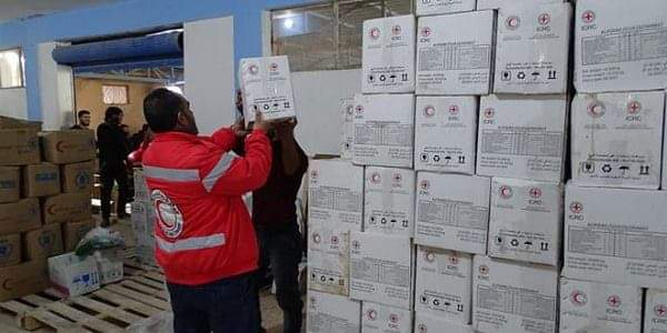 Photo of New batch of humanitarian aid distributed in three towns in Daraa countryside