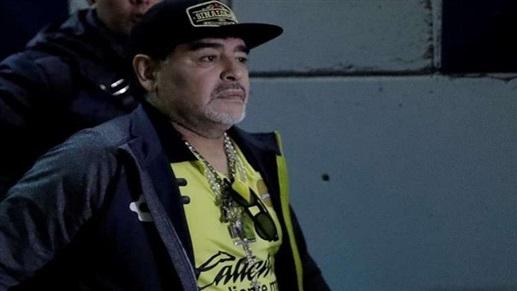Photo of نزيف داخلي يُدخل مارادونا المستشفى