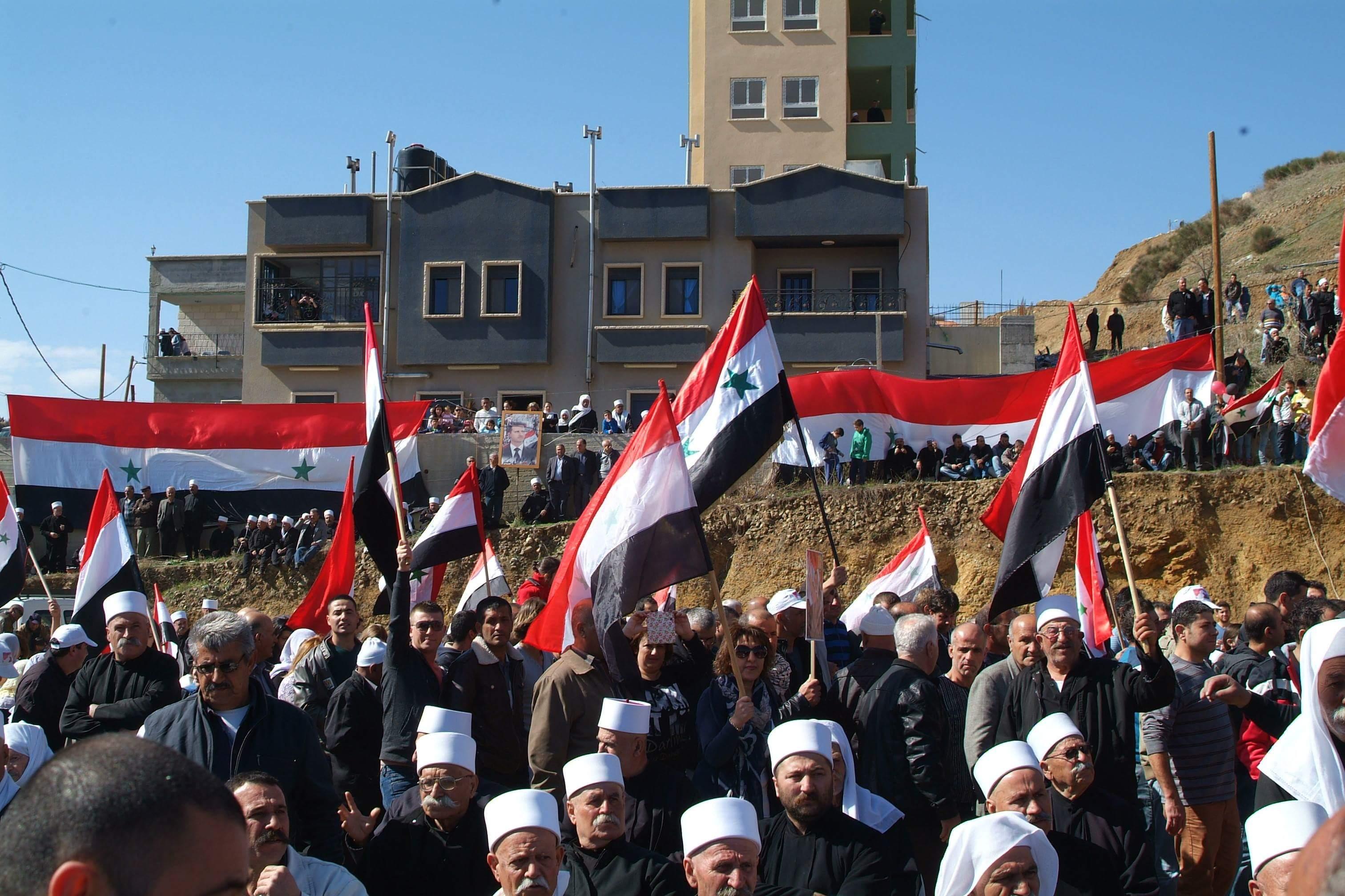 Photo of نواب ورجال دين لبنانيون: الجولان كان وسيبقى أرضاً سورية