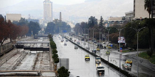 Photo of أمطار غزيرة بمعظم المحافظات السورية