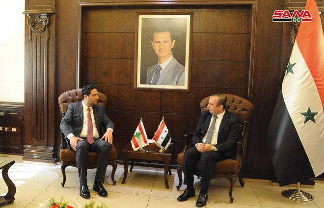 "Photo of مباحثات ""سورية – لبنانية"" لعودة اللاجئين"