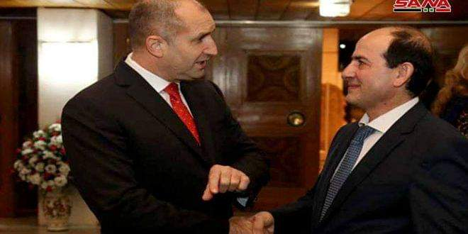 Photo of President of Bulgaria: Syria is friendly country and we have to stand by it